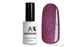 Akinami Color Gel Polish Star Glow - 04